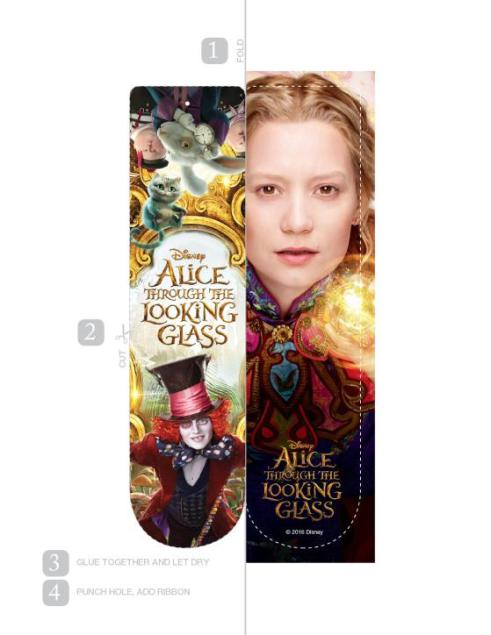 Alice-Through-The-Looking-Glass-Bookmark-Alice